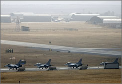 The Turkish Air Force's 2nd Command is based in the southeastern Turkish city of Diyarbakir.
