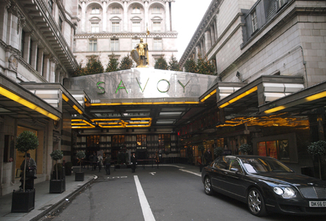 As part of a 16-month renovation, London's Savoy Hotel will upgrade heating, lighting and other infrastructure.
