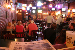 Willie's caters to University of Missouri students in Columbia. Students often drink there before going out.