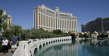 The Bellagio hotel-casino in Las Vegas will serve as the caucus site.