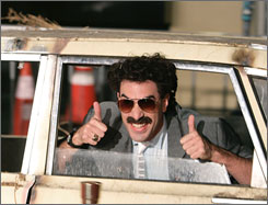 Actor Sacha Baron Cohen portrayed bumbling foreigner Borat in   Borat: Cultural Learnings of America for Make Benefit Glorious Nation of Kazakhstan. Numerous lawsuits have been filed against Cohen and the film's producers since its 2006 release.