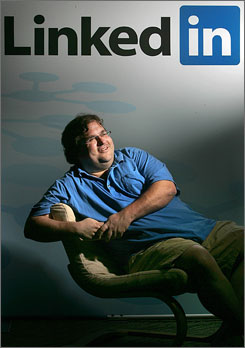 Besides Facebook, other promising prospects in Reid Hoffman's portfolio include blogging software maker Six Apart Ltd., blogging search engine Technorati Inc., online content-ranking site Digg Inc. and another online social networking service, Ning Inc. He also holds stakes in a variety of lesser-known start-ups.