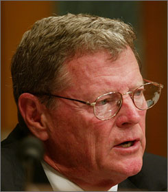 Sen. James Inhofe, R-Okla., has introduced legislation that would protect medical airlift pilots from lawsuits.