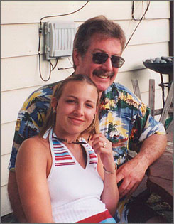 Former Bolingbrook, Ill., police officer Drew Peterson with his wife, Stacy Peterson, who has been missing since the end of October. Police have called Peterson a suspect. An Illinois radio station first agreed to and then nixed an idea to allow listeners to vie for a date with Drew Peterson.