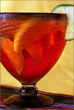 State legislators in Virginia are debating whether to lift a law making it illegal for restaurants to mix wine and distilled spirits  a law that covers authentic Sangria, which includes red wine and brandy.