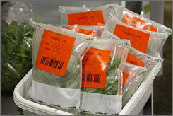 Infection with E. coli, the dangerous bacteria that can show up in undercooked ground beef as well as dairy and vegetable products, is rising, and it's showing up in unexpected foods, such as spinach.