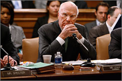 Senate Judiciary Committee Chairman Patrick Leahy, D-Vt., at a commiittee hearing in November on Capitol Hill in Washington.