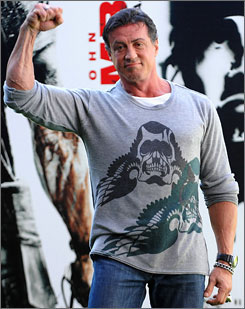 Sylvester Stallone has said that to prepare for the new Rambo, he took human growth hormone, which can build muscle mass and cut body fat.