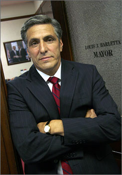 Lou Barletta  mayor of Hazleton, Pa.  has decided to seek higher office with a congressional run in northeastern Pennsylvania.