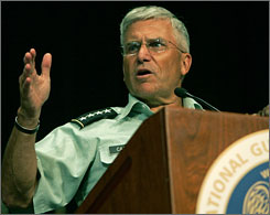 Gen. George Casey says that even though the Army is stressed, it is also resilient.