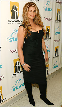 Kirstie Alley at the Hollywood Film Festival in Beverly Hills, Calif., in Oct. 2007. Alley discontinued her role as a spokesperson for the Jenny Craig Company to work on launching her own weight-loss line in 2009.