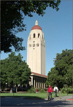 Stanford University received $284.6 million in alumni donations for 2007, according to the Council for Aid to Education. More than 28% of Stanford's alumni gave money to the school last year, the council found.