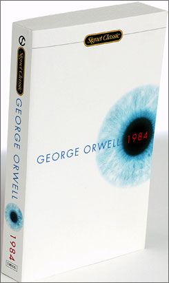 A little more than half of students knew the theme of George Orwell's 1984.