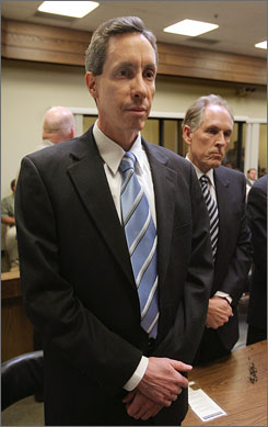 Warren Jeffs reacts to the verdicts against him in September 2007 in a St. George, Utah, court.