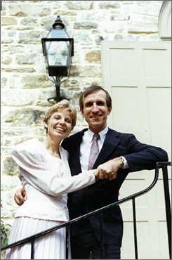 Eleanor Clift's late husband, Tom Brazaitis, was a columnist with The Plain Dealer.