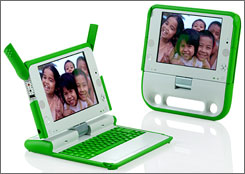 little  cheap and sturdy  low cost laptops aimed at bringing technology to