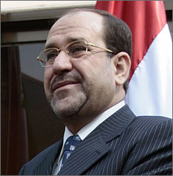 Iraqi Prime Minister Nouri al-Makiki, wary of U.S. influence, has set up a rival spy agency.
