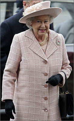 Britain's Queen Elizabeth II arrives at Westminster Abbey in central London, on March 10. A pledge to the monarch was suggested to boost British citizenship.