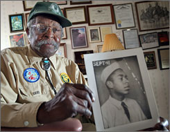 Robert L. Griffin joined the Civilian Conservation Corps in 1941 as a member of one of the few African-American camps.