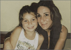 Nancy Bochicchio and her daughter, Joey, 7, were brutally slain by a killer in a swanky mall in Boca Raton, Fla., police said.