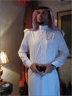 Ali Hatem al-Suleiman, the prince of Iraq's powerful Dualym Tribe, is one of the leaders of the Anbar Awakening, which helped repel al-Qaeda in Iraq's Western Desert.