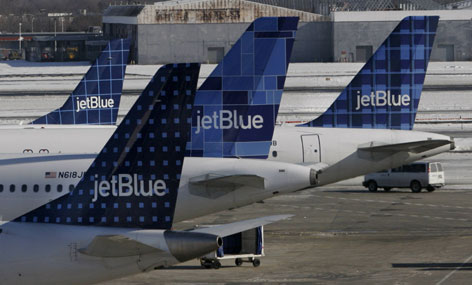 JetBlue, like other discount airlines, helped spur the growth of midsize airports outside major cities but had to reassure neighbors they would try to limit noise and numbers of flights.