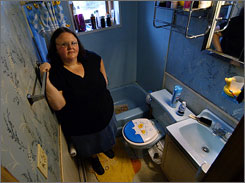 Dawn Herb, 33, was cited for disorderly conduct after her neighbor, an off-duty Scranton police officer, called authorities to complain about Herb using profanities on the night her toilet backed up. The Scranton, Pa., police department is among the winners of the 2008 Jefferson Muzzle Awards.