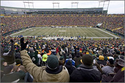 Wisconsin taxpayers can opt to help pay for renovations at Lambeau Field, where the Green Bay Packers play.