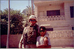 Irving Medina, who was killed by a roadside bomb in Iraq in 2003, is seen in a undated photograph. At the time of his death, his twin brother Ivan was also serving in the military. He was able to leave the army because of a Pentagon policy that helps to ensure that a family doesn't lose all its children in combat, and allows sole survivors to leave the service before their enlistment contracts are up.