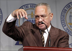 Rev. Jeremiah Wright was Barack Obama's pastor for 20 years.