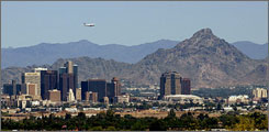The U.S. Board on Geographic Names voted April 10 to officially change the name of the prominent Phoenix mountain Squaw Peak to Piestewa Peak to honor Army Spc. Lori Piestewa.