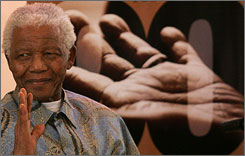 Nelson Mandela won the Nobel Peace Prize in 1993.
