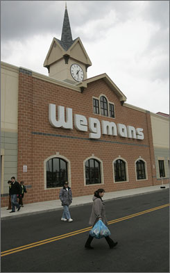 Wegmans, a grocery store chain with 70 stores in five states, took cigarettes off their shelves in February.