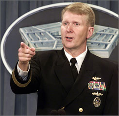 Vice Adm. John Stufflebeem carried on an eight-month affair with a State Department staffer while the two were assigned to the White House in 1990.