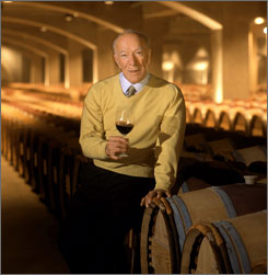 Winemaker Robert Mondavi has died at age 94, family members said Friday.