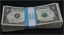 A federal appeals court has ruled that U.S. paper money discriminates against the blind.