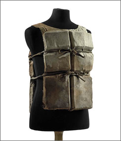 A life preserver from the Titanic is slated to be auctioned by Christie's in New York.