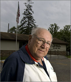 John Piernot, a retired postal worker in West Baraboo, Wis., says he doesnt think his villiage is at great risk of attack.