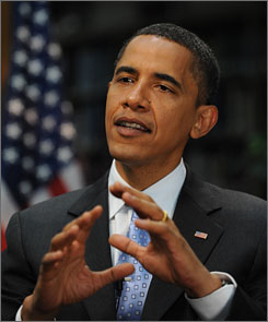 "During the tour, Obama said he plans to ""offer some very concrete solutions as to how we deal with both the short-term squeeze that (working-class Americans are) under and how over the long term we right the economic ship."""