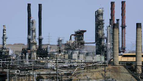 High crude oil prices have meant that refineries, such as this Chevron facility in Richmond, Calif., have operated on razor-thin margins this year.