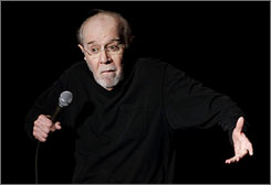 Comedian George Carlin opens the 13th annual U.S. Comedy Arts Festival at the Wheeler Opera House, in Aspen, Colo., in 2007.