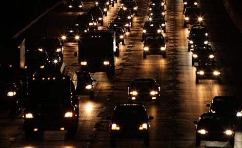 Americans are driving about the same number of miles as in 2005, when the USA had 8 million fewer people, according to a USA TODAY analysis of Federal Highway Administration data.