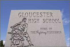 "Gloucester High School, ""home of the fighting fishermen,"" is now home of an alleged pact between students to get pregnant together in Gloucester, Mass."