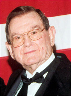 Hardee's founder Wilbur Hardee, shown here in 2001, launched 85 different restaurants throughout the Southeast.
