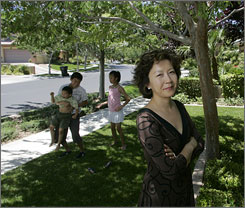 Pauline Ng Lee and her family moved to Nevada from Los Angeles. This decade, the Asian population has grown at a faster rate than that of the Hispanic population in 14 states including Nevada, Arizona and Texas.