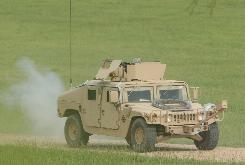 A simulated improvised explosive device goes off under a Humvee during a training exercise at Camp Shelby, Miss. on July 9, 2007. In May, there were 23 car and truck bomb attacks in Iraq, the fewest since August 2004.