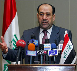 Iraqi Prime Minister Nouri al-Maliki's position is strengthened by military and political successes in weakening al-Qaeda and winning over many Sunni Muslims who formerly supported the insurgency.