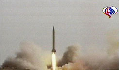Iran has set off seven test missile launches, according to U.S. defense officials.