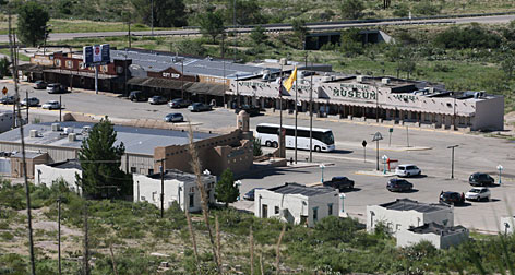 The tiny tourist town of White's City, N.M., will be auctioned Monday through Wednesday. The town's owners decided to offer 336 acres of real estate in 11 parcels.