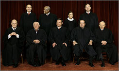 By the time the Supreme Court reconvenes in October, five of the nine justices will be 70 or older.